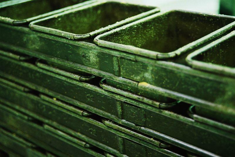 Old tins work best