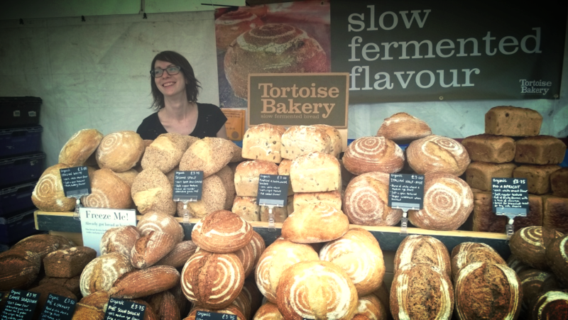 Tortoise Bakery Food Festival Stand